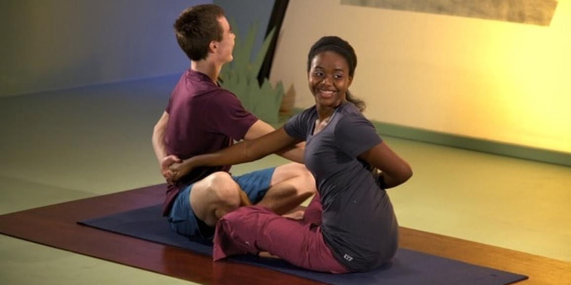 5 Reasons Teens Love Partner Yoga