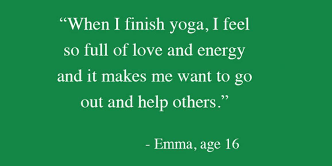 In their Own Words: What Teens Say About Partner Yoga