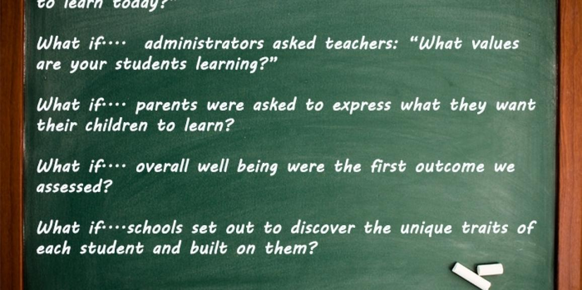 "5 ""What If"" Questions for Engaged Education"